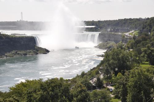 Marie-José Billard : Les chutes du Niagara