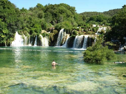 Alain Burde : Cascade de Krka