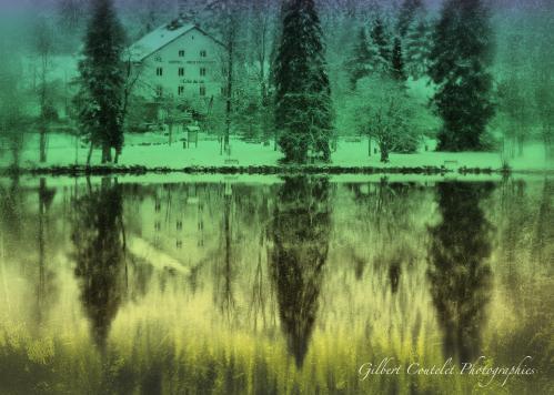 Gilbert Coutelet : Les reflets de ma fenêtre