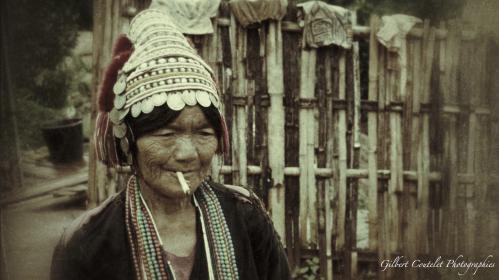 Gilbert Coutelet : Portraits Thailandais