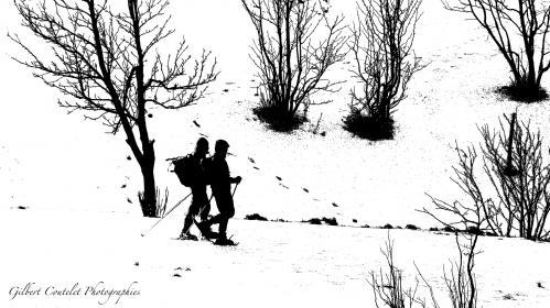 Gilbert Coutelet : Blanc et noir