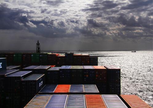 Michel Lacroix : Port de Zeebruges