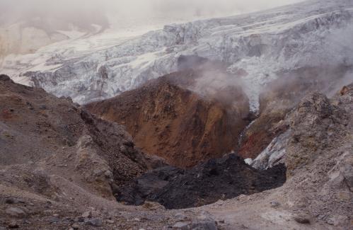 Jacques Padet : Kamtchatka - Volcan Mutnovsky