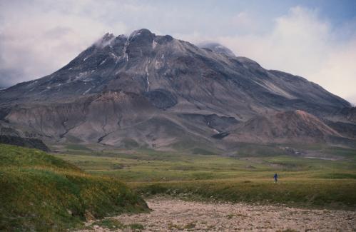 Jacques Padet : Kamtchatka - Volcan Bezymianny