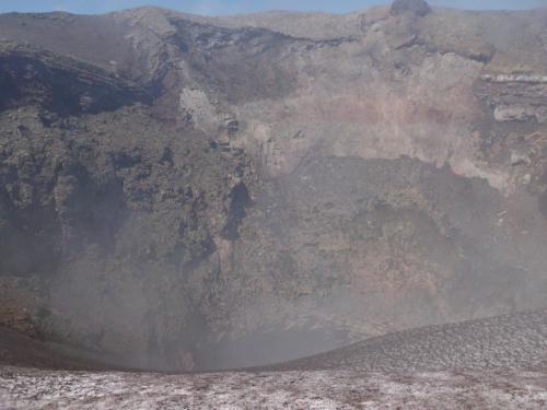 Jacques Padet : Chili - Cratère du Villarica