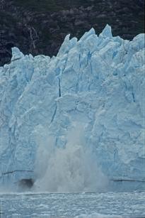 Jacques Padet : Alaska - Chute d'un sérac