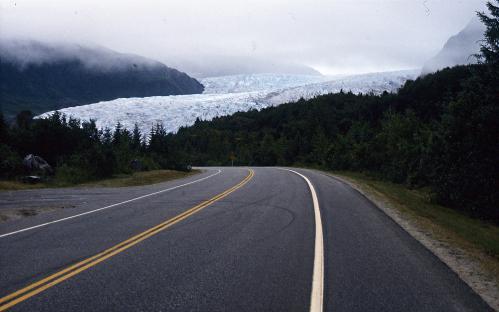 Jacques Padet : Alaska - Glacier Mendenhall - Juneau