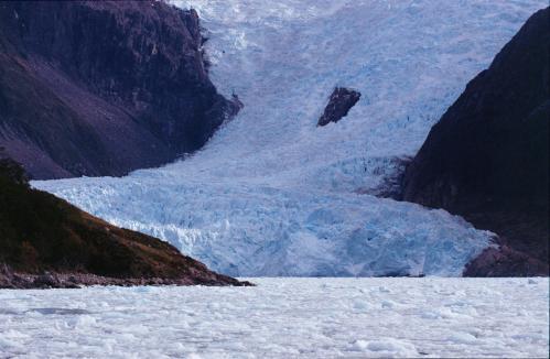 Jacques Padet : Terre de Feu - Glacier Pia