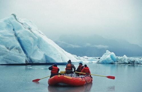 Jacques Padet : Alaska - Lac Alsek
