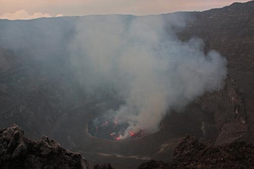 Jacques Padet : R.D. Congo - Cratère du Nyiragongo