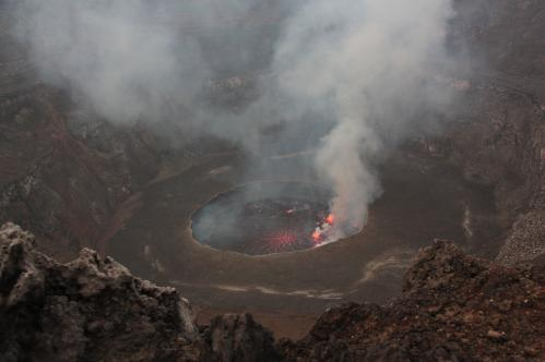 Jacques Padet :  R.D. Congo - Nyiragongo